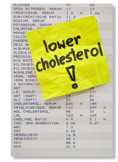 Lower Your Cholesterol